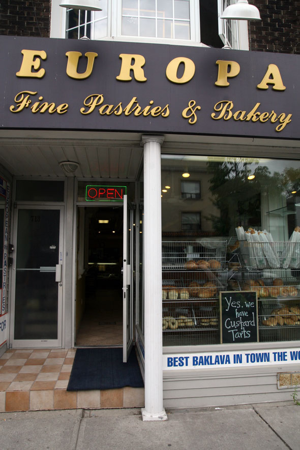 Europa Fine Pastries & Bakery Outside