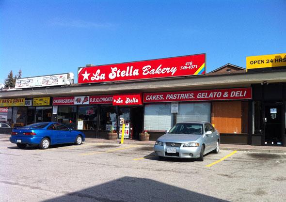 La Stella Bakery Toronto