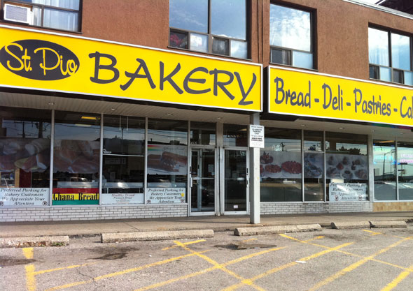 St. Pio Bakery Toronto