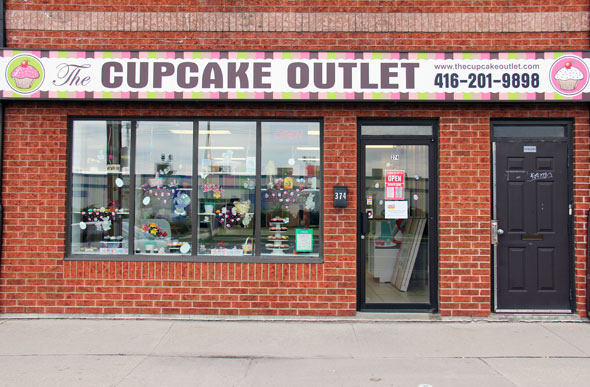 The Cupcake Outlet Etobicoke