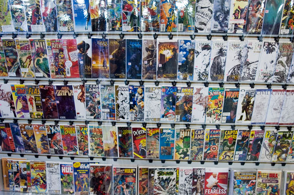 3rd Quadrant Comics new location at 685 Queen West