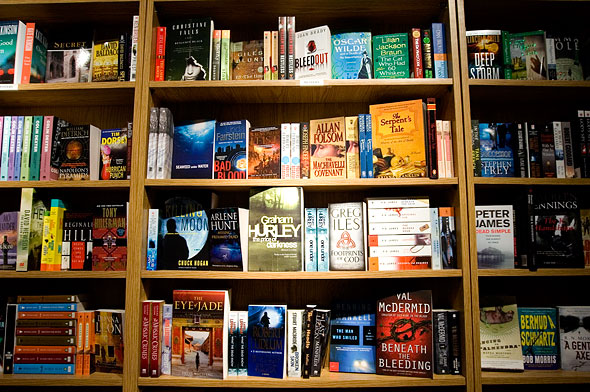 Fiction Section at The Book Mark