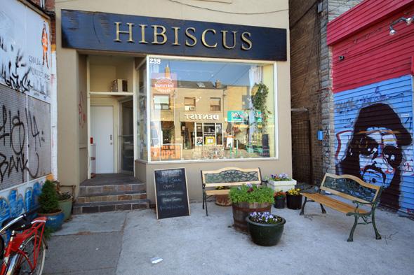 Hibiscus Cafe Kensington Market