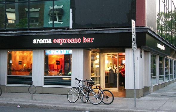 Aroma Espresso Bathurst And Wilson Aroma Espresso Bar is a Cafe