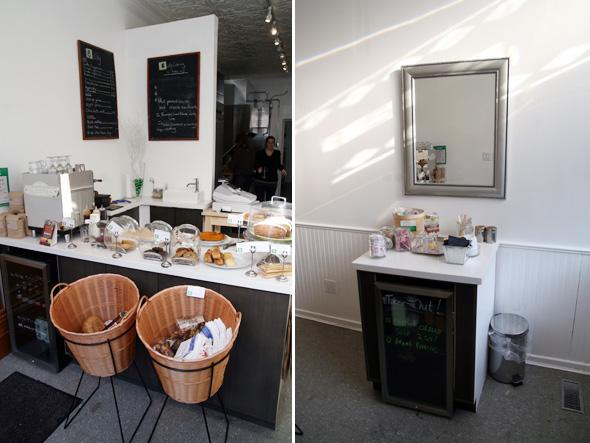 Inside Belly Cafe