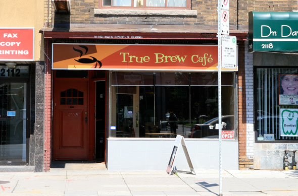 True Brew Cafe Toronto