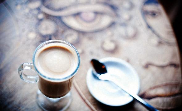 El Almacen latte