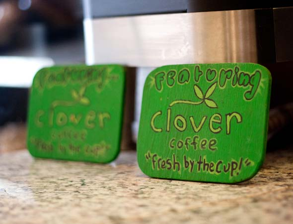 Clover coffee