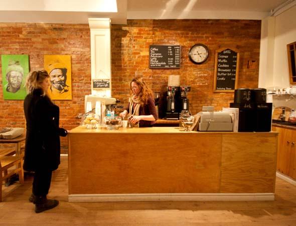 Big Guys Coffee Shop Toronto