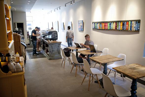 R Squared Cafe Toronto