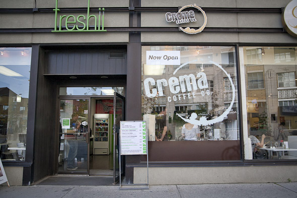Crema Coffee Spadina