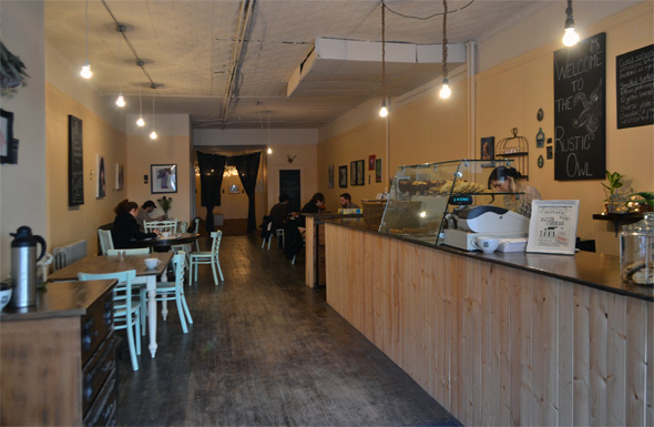 Rustic Owl Cafe Toronto