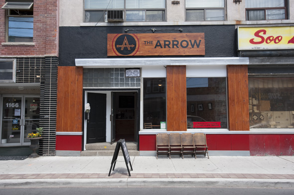 the arrow toronto