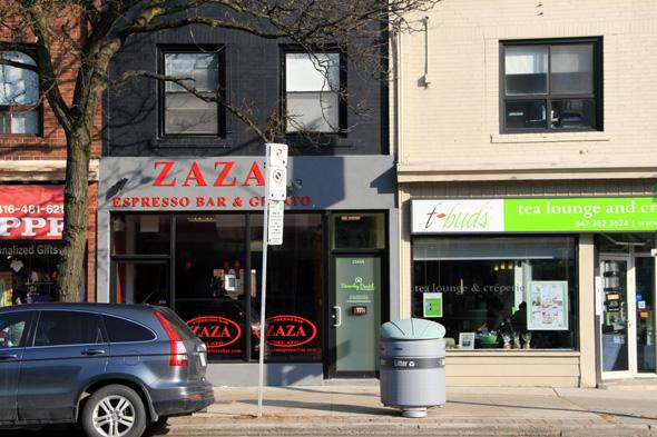 Zaza Cafe St Clair