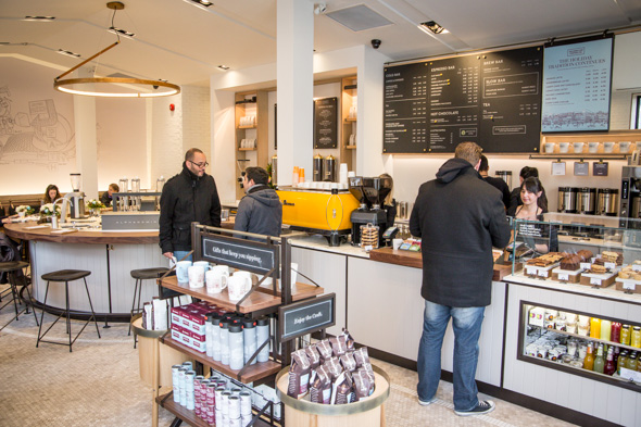 Second cup coffee co to toronto