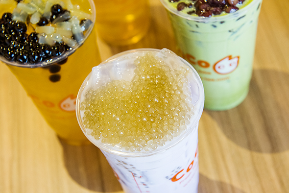 CoCo Fresh Tea & Juice doesn't offer food, nor does it offer a lot of...