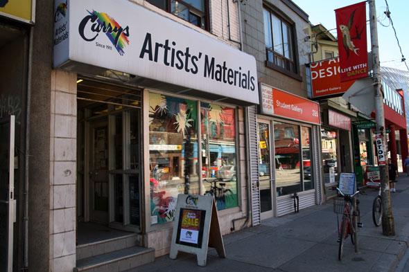 Curry's Art Store Toronto