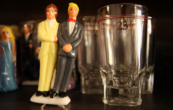 The Drake General Store Shot Glass