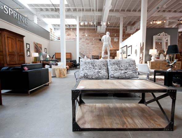 Horsefeathers home closed blogto toronto for Modern style furniture stores