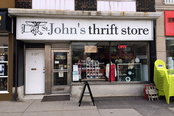 Designer Used Clothing Toronto thrift stores in Toronto