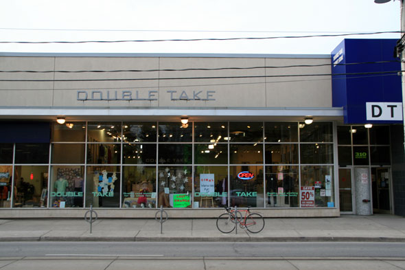 Double take clothing store