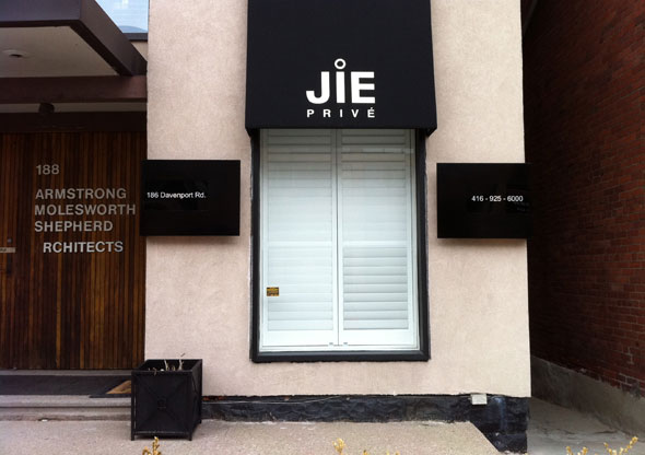 Jie prive for 186 davenport salon toronto