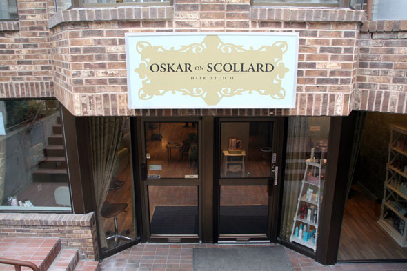 Oskar On Scollard Salon Toronto