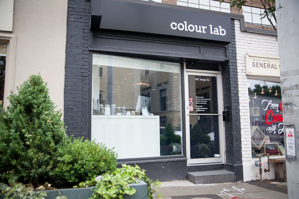 colour lab 12 toronto