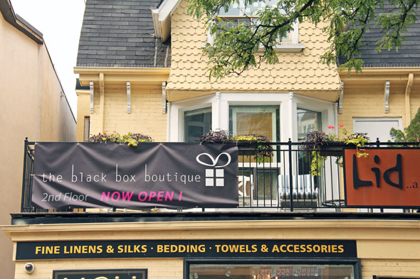 the black box boutique toronto
