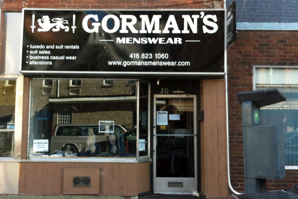 Gormans menswear