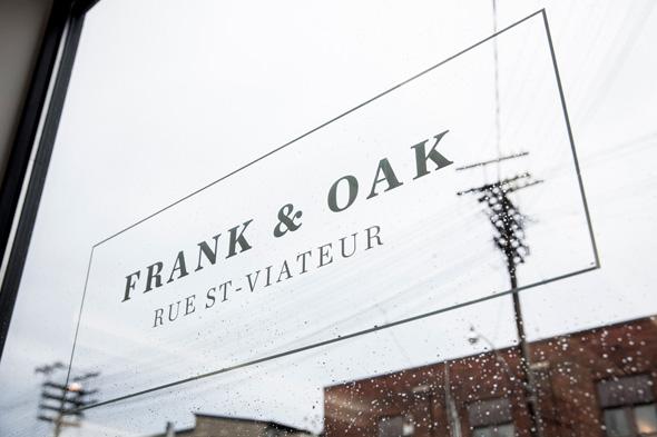 frank and oak toronto