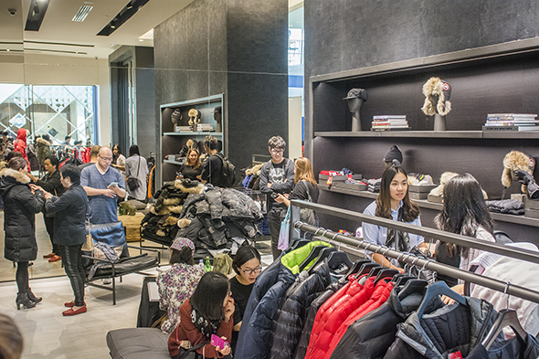 canada goose store in montreal