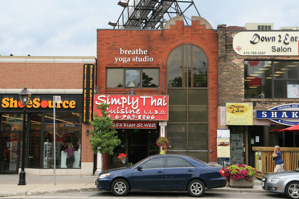 Breathe Yoga Studio Toronto