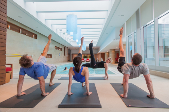 hotel yoga shangri la toronto