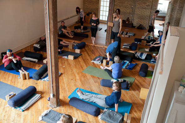 Leslieville Yoga Studio Toronto