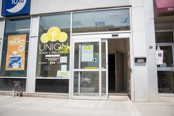 union yoga toronto