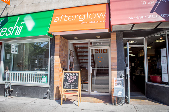 afterglow yoga toronto