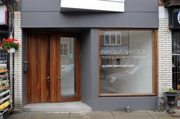 Alison Smith Gallery Exterior