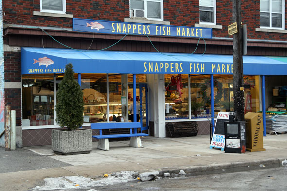 Snapper 39 s fish market for Village fish market