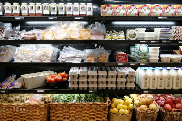 Blackstone Organic Meats Produce