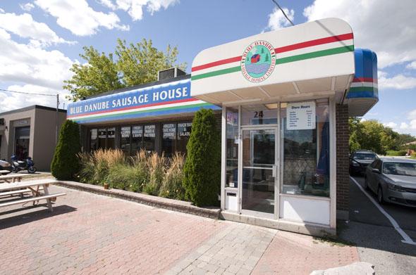 blue danube sausage house toronto