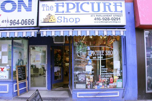 epicure shop toronto