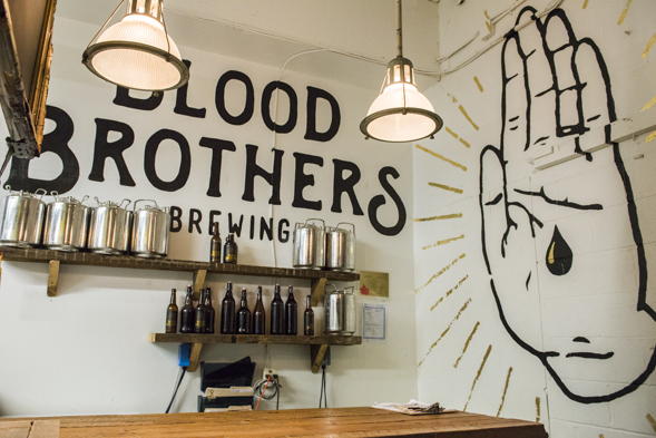 blood brothers beer store