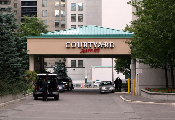 Marriott Courtyard Hotel Toronto