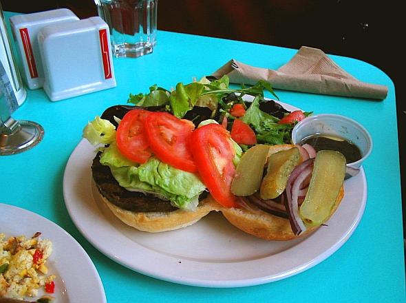 Sadie's Diner burger