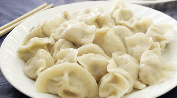 Dumplings at Mother's fall into boiled, steamed and pan-fried ...