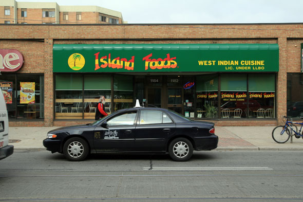 Island Foods Outside