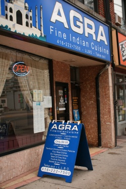 Agra storefront