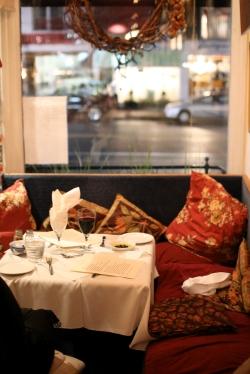 Cozy corner of Cafe Pleiade