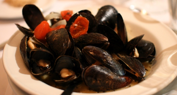 Mussels at Cafe Pleiade